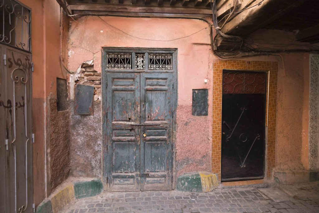 Marrakesh a photo serie, salmon doors are the best