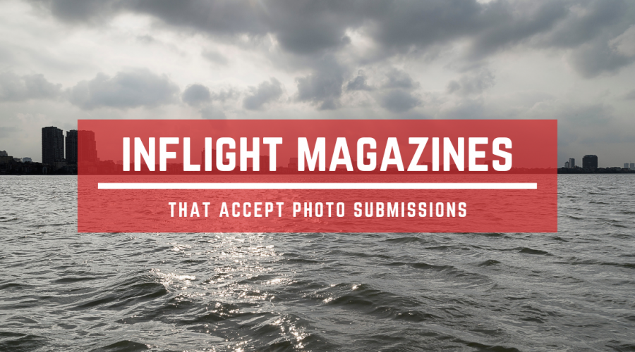 Inflight airline magazines that accept photo submissions